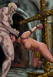 Degradation in Rome - He took out his aching erection by Mr.Kane 2016